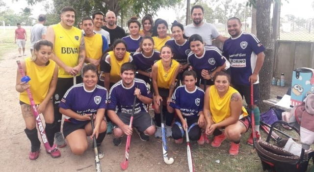 Visita al Club de Hockey Olimpo de Esparta