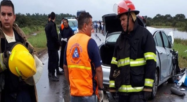 Santa Fe: Accidente fatal sobre ruta 95. Cinco personas fallecidas