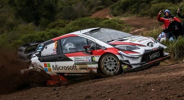 Tanak sigue al frente en la general en el Rally Argentina 2019